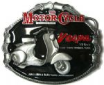 Vespa Scooter Belt Buckle with display stand. Code SC4